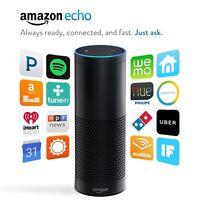 New Amazon Echo Alexa Personal Assistant Audio Digital Media Streamer - Black