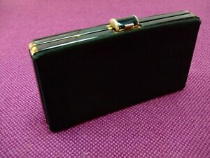 Vintage Clasp / Evening / Box bag. Grosgrain. Boots Handbag Department