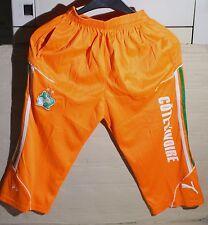 PUMA-Kinder-Sporthose, ¾ lang in Orange, Größe 2XL.