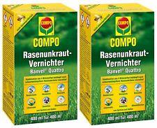 Sparset: 2 x COMPO Rasenunkraut-Vernichter Banvel® Quattro, 400 ml