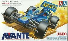 TAMIYA 1:32 MINI 4WD  AVANTE JUNIOR CON MOTORE INCLUSO WITH MOTOR  ART 18014