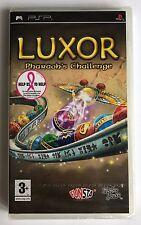 PSP Luxor Pharooh's Challenge (2008), UK Pal, Brand New & Sony Factory Sealed