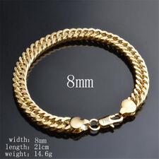 New Fashion 18K Gold Bracelet Personality Whip Bracelet Jewelry Women's Gift