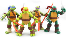 4 Stück 12cm Junge Mutant Ninja Turtles TMNT Action-Figuren-Sammlung Spielzeug