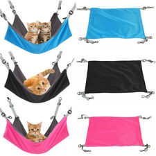 Double-sided Comfy Pet Cat Hammock Puppy Dog Hanging Cage Nest Sleeping Bed Mat