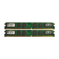 Kingston 4GB 2x2GB Kit KVR667D2N5K2/4G low Profil Kit of 2 9905429-020.A00LF PC