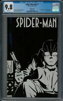 SPIDER-MAN NOIR #1 CGC 9.8 (2/09) Marvel variant white pages