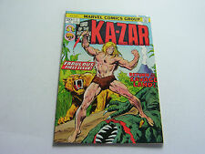 KA-ZAR COMIC #11 JANUARY 1974  FIRST ISSUE  VERY FINE-