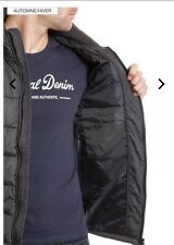 KAPORAL Doudoune à capuche anthracite taille M neuf!