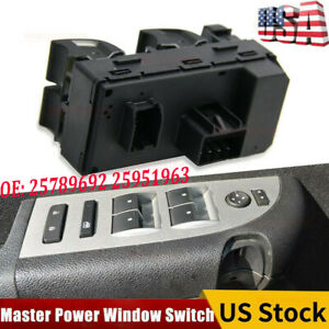 Master Power Window Door Switch For 2007-2013 Chevrolet Silverado 20945129 1500