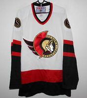 Vintage Ottawa Senators NHL ice hockey shirt jersey CCM Size L