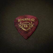 WINSPEAR PICKS - Future Shiv 1.7mm Flat Profile - Pink Marble/Gold