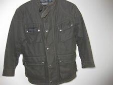 BELSTAFF Jacke Jungen gefüttert grau / khaki Größe 8 ca. Größe 140