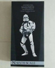 Sideshow 1/6 Clone Trooper Deluxe Shiny