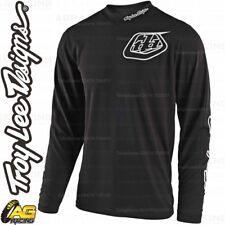 Troy Lee Designs 2019 GP Mono Black Youth Race Jersey Shirt Motocross Enduro ATV