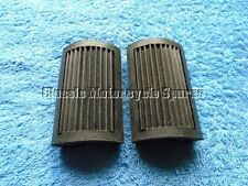 NORTON BSA VINTAGE PEDAL TYPE PLAIN RUBBERS. NEW IN STOCK