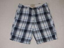 Karierte Hosengröße W34 Herren-Shorts & -Bermudas in normaler Größe