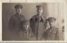 WW1 Soldier Group 18th London Regiment London Irish AH Gardner V Plowman J Davis