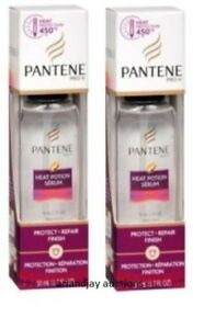 Lot of 2 New NIP Pantene Pro-V Heat Potion Serum 1.7 fl oz x 2