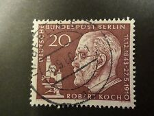 ALLEMAGNE BERLIN DEUTSCHLAND timbre 170 R. KOCH oblitéré, CELEBRITY cancel STAMP