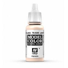 Vallejo Model Color: Light Flesh - VAL70928 Acrylic Paint 17ml Bottle 006
