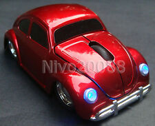 1967 VW Classic Beetle Car wireless Mouse 2.4G USB Optical Laptop Computer Mice