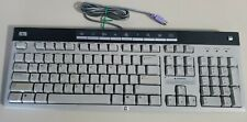 PS2 Computer Keyboard HP 5187-1767 Mechanical Hewlett Packard HP