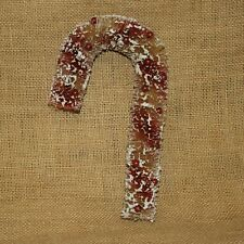 """9"""" Bristle Candy Cane Christmas Vintage Reproduction Primitives by Kathy"""
