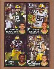 2016 Green Bay Packers Police TEAM SET - Aaron Rodgers, Matthews, Jordy Nelson +