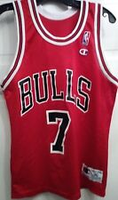 Vintage Tony Kukoc Chicago Bulls Champion Jersey Made in USA size 36