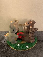 """Fitz And Floyd Charming Tails """"Ring Around The Rosie� Figure"""