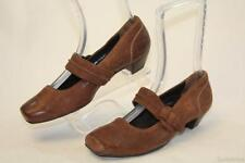 P Paul Green NEW Distressed Brwn Leather Mary Janes MISMATCH Wom L5.5 R 6 US ANB