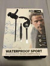 Altec Lansing Waterproof Sport Bluetooth Earphones