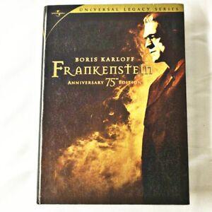 Boris Karloff Frankenstein DVD 75th Anniversary Edition 2 Disc Remastered