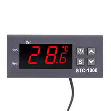 Temperature Controller Thermostat Aquarium STC1000 Incubator Cold Chain Temp F5