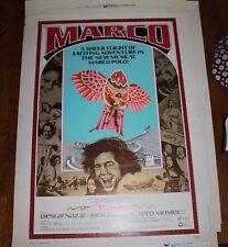 Original Marquee rolled movie Poster Marco Desi Arnez Junior 1973 Zero Mostel