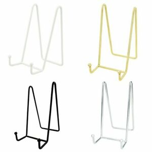 Decorative Plate Stand Holder Picture Frame Stand Easel Display Stand Coook Book