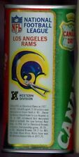 1976 Canada Dry Ginger Ale Soda Pop Can Football NFL League Los Angeles Rams