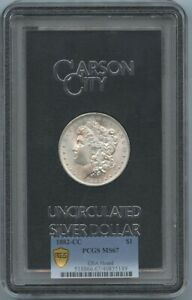 1882 S $1 Morgan Dollar GSA PCGS MS67