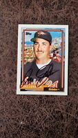 1992 Topps Dave Johnson #657 - Baltimore Orioles - Autographed!