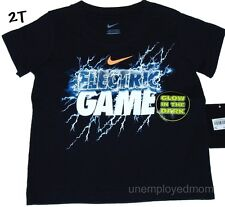 Nike T Shirt Boys Sports Athletic Active Cute Sayings Top Tee Little Play Summer