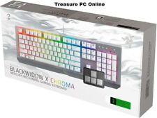 Razer BlackWidow X Chroma Mercury Mechanical Gaming Keyboard RZ03-01762000