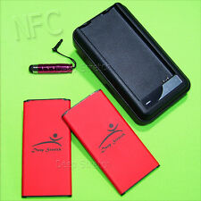 Accessory 6520mAh Extra Nfc Battery Wall Charger f Samsung Galaxy S5 G900P I9600