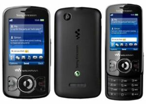 SONY ERICSSON W100i SPIRO SLIDE MOBILE PHONE-UNLOCKED WITH CHARGAR AND WARRANTY