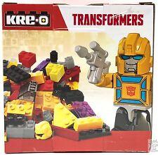 Transformers KRE-O Brick Box Bumblebee 77 pcs Decepticon Hasbro KREO Gold Figur