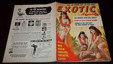 EXOTIC ADVENTURE MAGAZINE VOL. 1 #5 1959 IN FN-