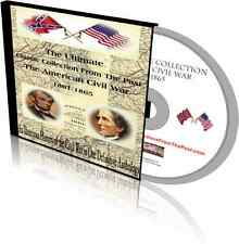 The Ultimate Collection about the American Civil War-over 150,000 pages on 2 DVD