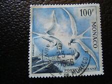 MONACO timbre yvert et tellier aerien n° 66 obl (dentele 13) (A4)stamp monaco