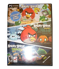 Angry Birds/Angry Birds Seasons/Angry Birds Space (PC, 2012) NEW