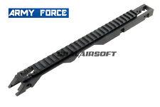 Fuerza de ejército riel superior de metal para Umarex Airsoft Rilfe AF-MT0104 serie G36